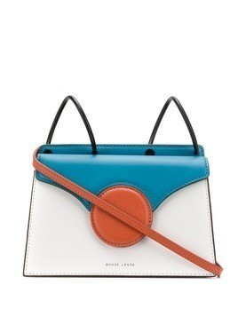 Danse Lente block color cross body bag - Blue