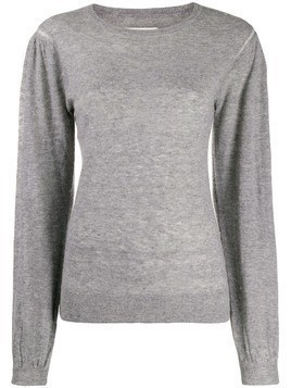 Isabel Marant Étoile long-sleeve fitted top - Grey