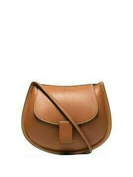 Jil Sander leather cross body bag - Brown