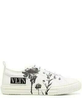 Valentino Giggies Flowersity low-top sneakers - White
