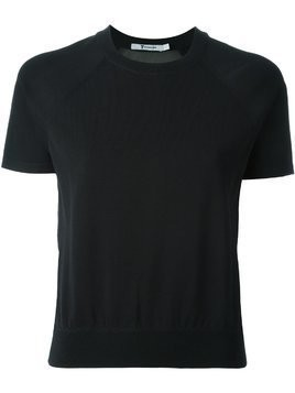 T By Alexander Wang sheer panel jumper - Black