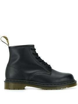 Dr. Martens flat lace-up boots - Black