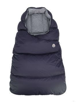 Moncler Kids quilted sleeping bag - 742 Blue