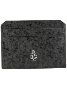 Mark Cross logo cardholder - Black
