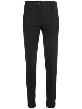 Cambio creased skinny trousers - Grey