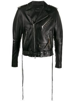 AMIRI studded biker jacket - Black