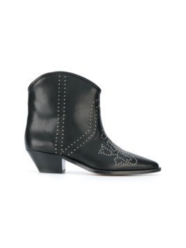 Isabel Marant studded ankle boots - Black