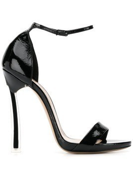 Casadei ankle strap stiletto sandals - Black