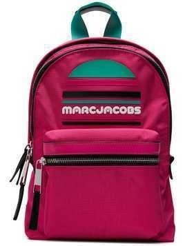 Marc Jacobs logo plaque backpack - Pink & Purple