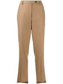 Golden Goose pinstripes tailored trousers - NEUTRALS