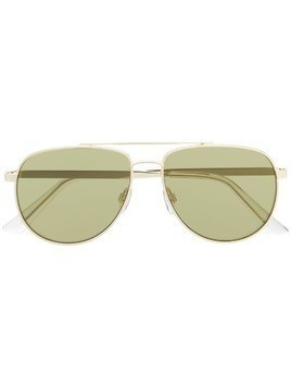Le Specs oversized aviator sunglasses - Gold