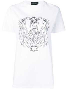Barbara Bologna angel print T-shirt - White