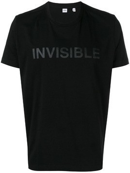 Aspesi Invisible print T-shirt - Black