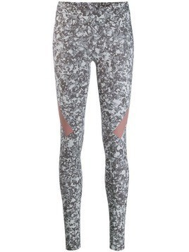 Adidas By Stella Mccartney all-over leggings - Grey