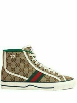 Gucci Gucci Tennis 1977 high-top sneakers - Neutrals