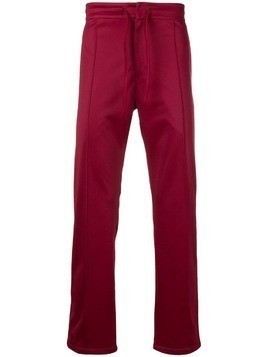 Astrid Andersen slim-fit track trousers - Red