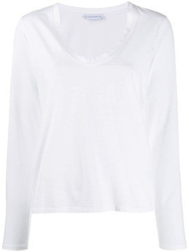 Fine Edge longsleeved T-shirt - White