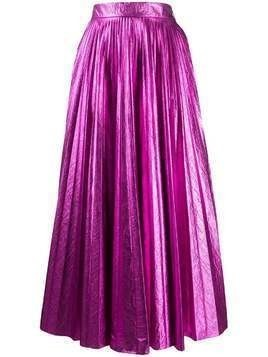 Christopher Kane pleated high-rise skirt - PINK