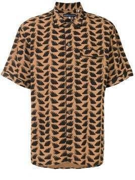 Levi's: Made & Crafted abstract print shirt - Brown