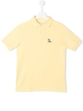 Lacoste Kids short sleeve polo shirt - Yellow