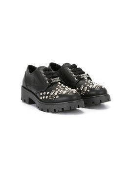Am66 studded lace-up shoes - Black