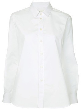 Saint Laurent pointed collar shirt - White