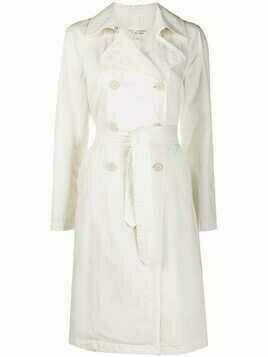 Nili Lotan double-breasted trench coat - White