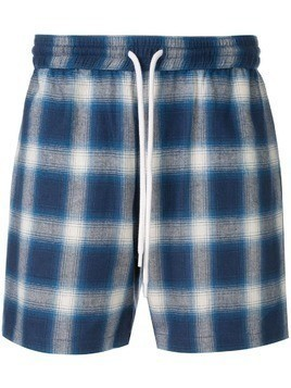 Adaptation plaid shorts - Blue