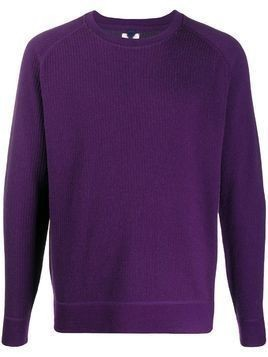 Mc Lauren round neck jumper - PURPLE
