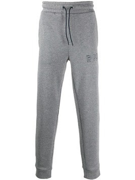 Boss Hugo Boss logo stripe panel track pants - Grey