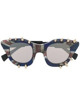 Kuboraum God Save The Queen sunglasses - Blue