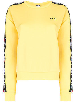 Fila logo taping sweatshirt - Yellow & Orange