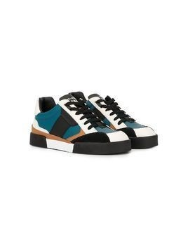 Dolce & Gabbana Kids colour-block sneakers - Blue