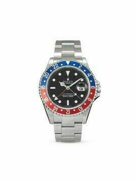 Rolex 2006 pre-owned GMT-Master II 40mm - Black