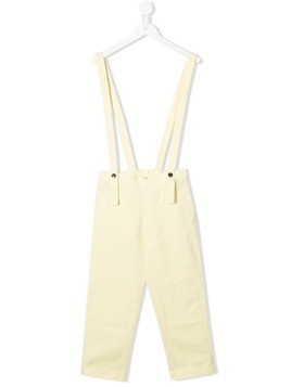 Bandy Button Cooper dungarees - Yellow