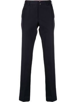 Incotex straight-leg chino trousers - Blue