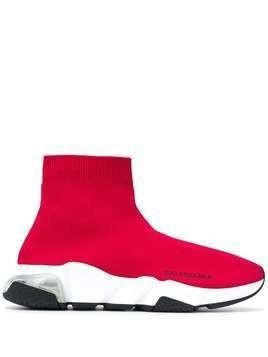 Balenciaga Speed slip-on sneakers - Red