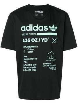 Adidas Kaval short sleeve T-shirt - Black