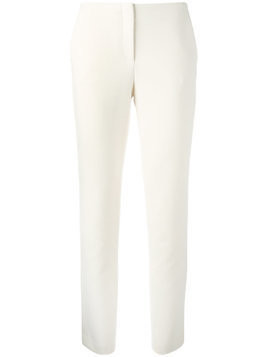Theory slim-fit trousers - White