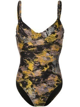 Cynthia Rowley Sandi swimsuit - Yellow