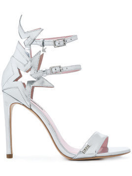 Karl Lagerfeld Gala Supernova strap sandals - Metallic