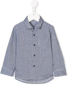 Il Gufo striped shirt - Blue