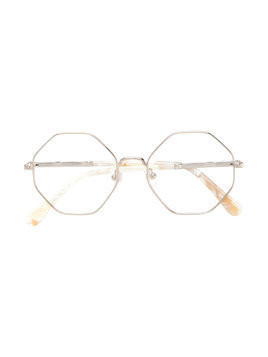Chloé Kids octagonal glasses - Metallic