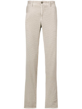 Incotex corduroy straight leg trousers - Nude & Neutrals