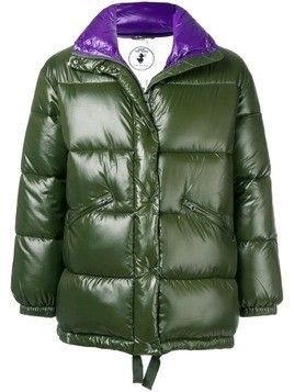 Save The Duck Disney patch padded coat - Green