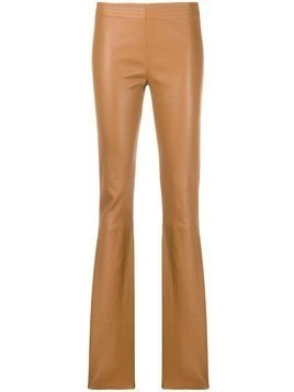 Drome flared style trousers - Brown