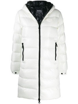 Duvetica padded hooded coat - White