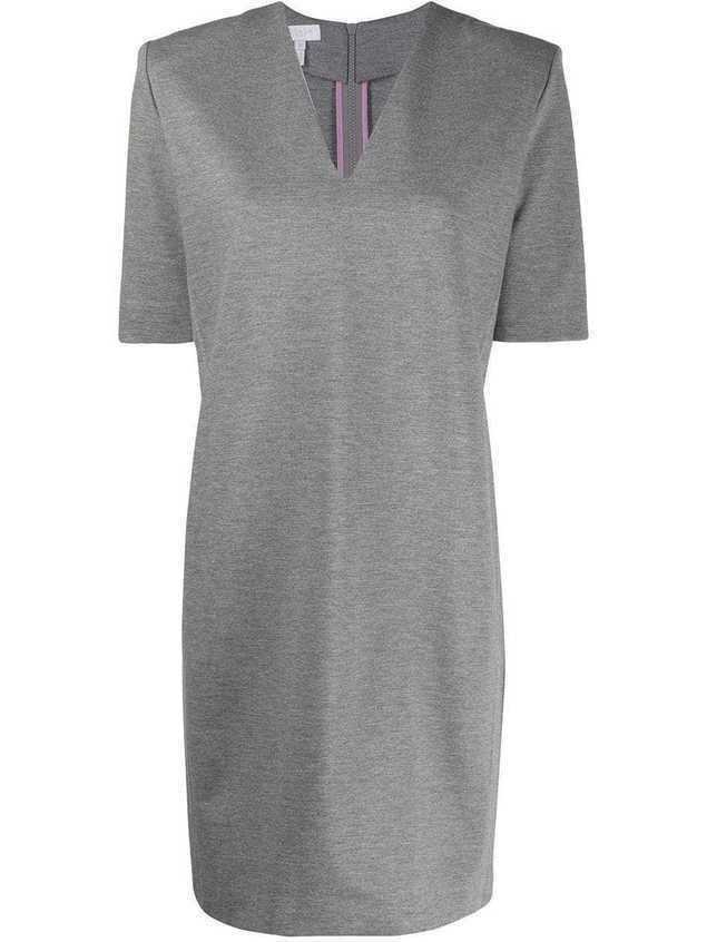 Escada Sport V-neck short dress - Grey
