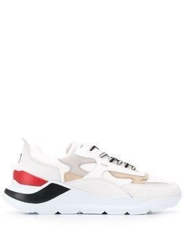 D.A.T.E. colour block Fuga sneakers - Neutrals