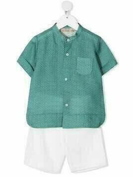 La Stupenderia two-piece cotton set - Green